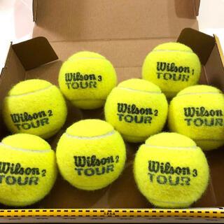 wilson - USED wilson TOUR 硬式テニスボール 8個 中古品