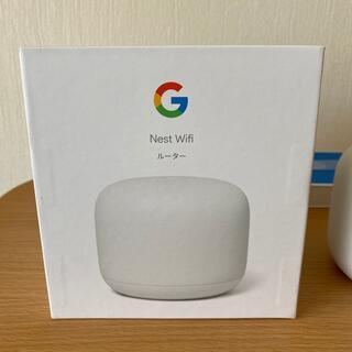 グーグル(Google)のGoogle Nest Wi-Fi 無線LANルーター(PC周辺機器)