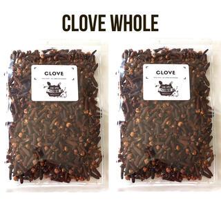クローブホール100g 保存に便利なチャック式袋(調味料)