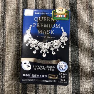 クオリティファースト(QUALITY FIRST)のクオリティファースト クイーンズプレミアムマスク ホワイトマスク(1枚入*5袋)(パック/フェイスマスク)