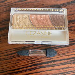 CEZANNE(セザンヌ化粧品) - セザンヌ トーンアップアイシャドウ 08 ハニーブラウン(2.6g)