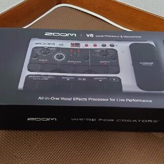 ズーム(Zoom)のZoom V6 本体+ACアダプタ(エフェクター)