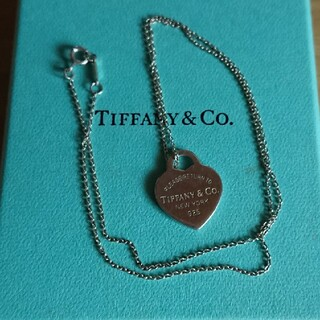 Tiffany & Co. - ティファニー ハートプレートネックレス