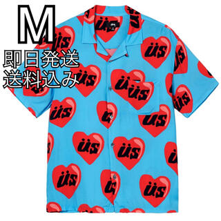 STUSSY - M STUSSY CPFM HEART SHIRT シャツ
