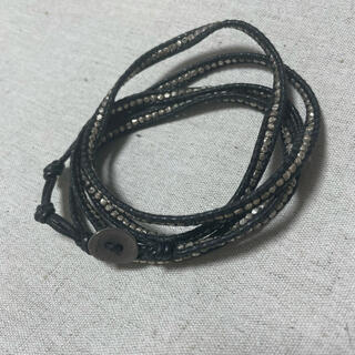 チャンルー(CHAN LUU)のチャンルー chan luu ブレスレット 黒 5連(ブレスレット)
