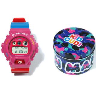 アベイシングエイプ(A BATHING APE)のBAPE KID CUDI G-SHOCK DW6900CUDI-4CR (腕時計(デジタル))