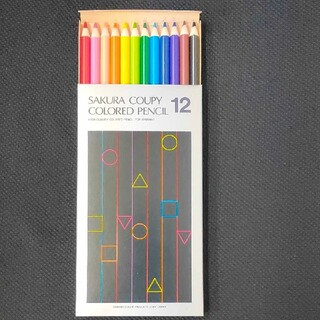 サクラクレパス(サクラクレパス)のサクラクーピー 色鉛筆  12色(色鉛筆)