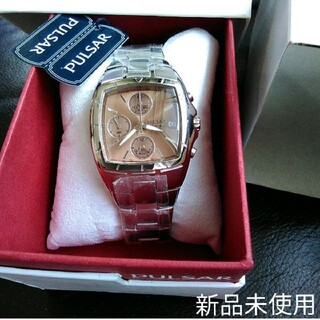 SEIKO - 新品未使用★SEIKO 腕時計 パルサークロノグラフ QZ クォーツ