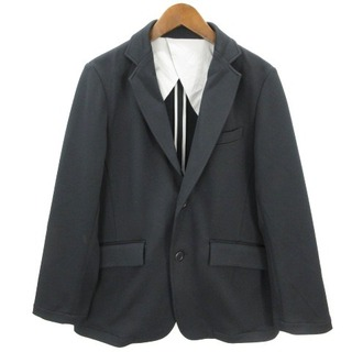 ナンバーナイン(NUMBER (N)INE)のナンバーナイン テーラード ジャケット ストレッチ 黒 ブラック 2(テーラードジャケット)