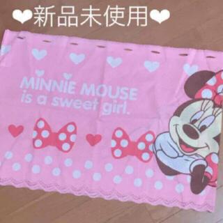 ミニーマウス - 【新品】6/26までお値下げ♡ミニーマウス♡カフェカーテン♡ピンク♡ディズニー