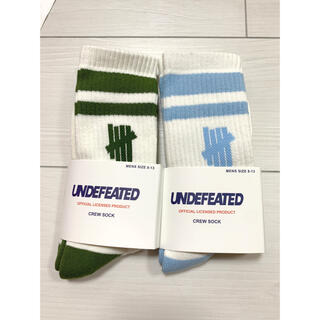 UNDEFEATED - アンディフィーテッド 靴下 ソックス undefeated