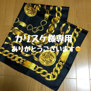お洒落な大判スカーフ 美品✨(バンダナ/スカーフ)