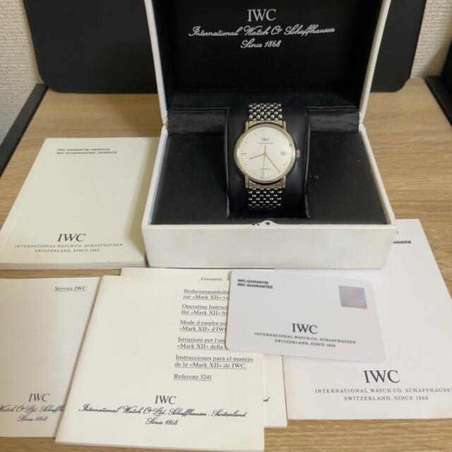 IWC(インターナショナルウォッチカンパニー)のIWC/ポートフィノ/正規品/自動巻/38mm メンズの時計(腕時計(アナログ))の商品写真