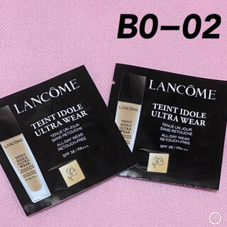 LANCOME - ランコム タンイドル ウルトラ ウェア リキッド BO-02 サンプル 2枚