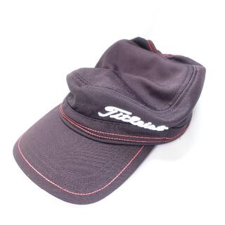 タイトリスト(Titleist)のTitleist 帽子 メンズ ブラック(キャップ)