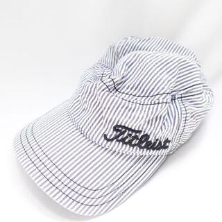 タイトリスト(Titleist)のTitleist 帽子 メンズ ストライプ(キャップ)