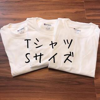 Champion - 【訳あり】チャンピオン メンズ 半袖 Tシャツ トップス 白T 洋服 S