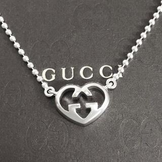 Gucci - 正規品 グッチ ネックレス オープン ハート 銀 SV925 ボール チェーン4