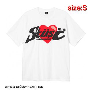 STUSSY - CPFM & STÜSSY HEART TEE