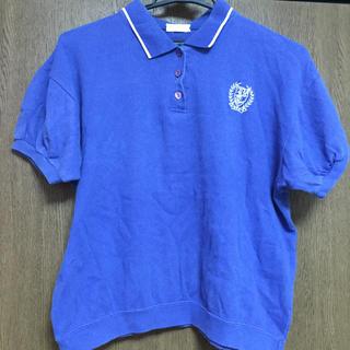 ウィゴー(WEGO)のロイヤルブルー ポロシャツ(ポロシャツ)