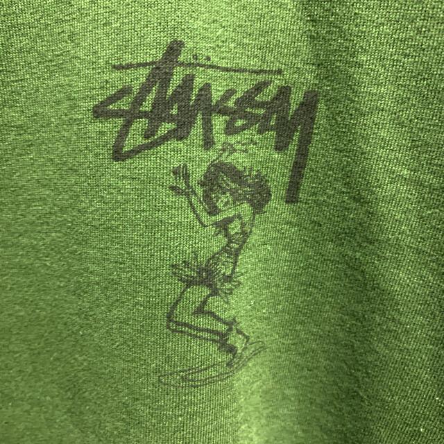 STUSSY(ステューシー)のTWIST GIRLOLD STUSSY 80s ヴィンテージ  Tシャツ黒タグ メンズのトップス(Tシャツ/カットソー(半袖/袖なし))の商品写真