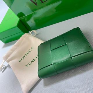 Bottega Veneta - BOTTEGA VENETA/二つ折り/完売/グリーン・緑