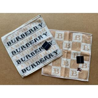 BURBERRY - バーバリータオルハンカチセット
