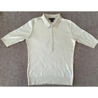 ラルフローレン(Ralph Lauren)のラルフローレン ブラックレーベル ポロニット半袖長め 綿100%  アメリカ製(ニット/セーター)