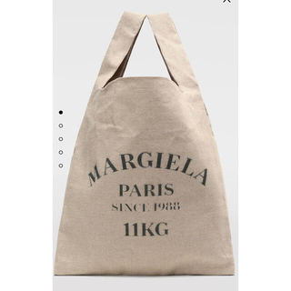 Maison Martin Margiela - Maison Margiela XL リネン ショッピングバッグ
