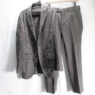 ボリオリ(BOGLIOLI)のBOGLIOLI スーツ メンズ ブラウン/千鳥柄(セットアップ)