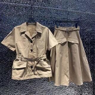 Christian Dior - Dior カジュアルスーツ  スカートと上着