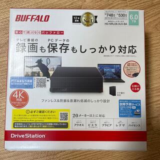 バッファロー(Buffalo)のbuffalo 外付けハードディスク HD-NRLD6.0U3-BA(テレビ)