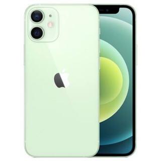 iPhone - iPhone12mini 64GB GREEN SIMロック解除済