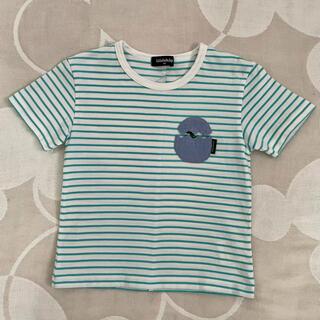 kladskap - 美品☆ kladskap ボーダー半袖Tシャツ 100