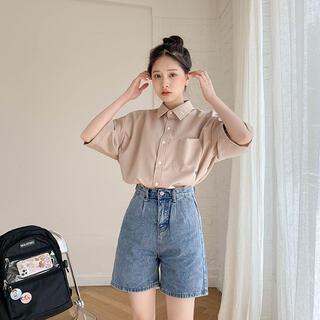 ゴゴシング(GOGOSING)のソニョナラ ポケットカラーシャツ(シャツ/ブラウス(半袖/袖なし))
