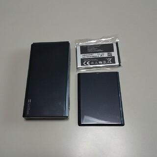 サムスン(SAMSUNG)の美品740SC SIMフリー 黒色(携帯電話本体)
