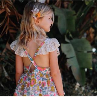 ボンポワン(Bonpoint)のLouise Misha ルイーズミーシャ 花柄 トップス 24m 2Y(Tシャツ/カットソー)