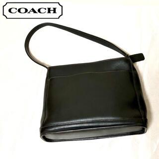 COACH - オールドコーチ OLD COACH レザー ワンショルダーバッグ ブラック