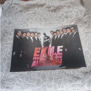 エグザイル(EXILE)のE X I L E のクリアファイル(ミュージシャン)