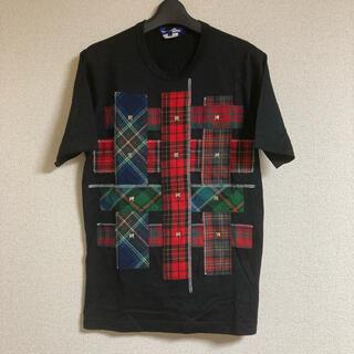 ジュンヤワタナベコムデギャルソン(JUNYA WATANABE COMME des GARCONS)の15AW JUNYA WATANABE CDG MANパッチワークスタッズT S(Tシャツ/カットソー(半袖/袖なし))