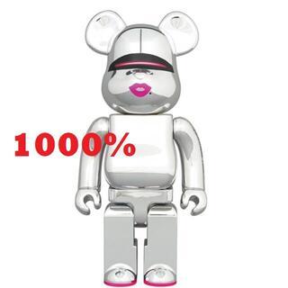 MEDICOM TOY - 新品 BE@RBRICK SORAYAMA x 2G SILVER 1000%