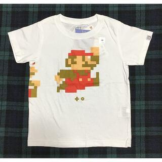 UNIQLO - 定価790円タグ付未使用新品ユニクロUniqloベビーキッズマリオTシャツ100