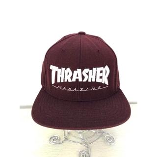 スラッシャー(THRASHER)のTHRASHER(スラッシャー) 6パネル ブランドロゴ刺繍 メンズ 帽子(キャップ)