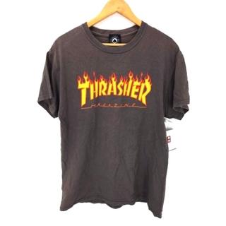 スラッシャー(THRASHER)のTHRASHER(スラッシャー) フレイムロゴTシャツ メンズ トップス(Tシャツ/カットソー(半袖/袖なし))
