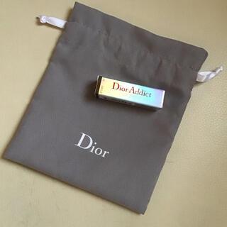 Dior - ディオール アディクト リップ マキシマイザー 001 ピンク サンプル 巾着付