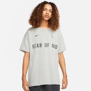 FEAR OF GOD - 新品 ナイキ フィアオブゴッド Tシャツ ダークグレー 希少M