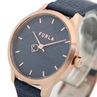 フルラ(Furla)のフルラ 腕時計 R4251131507 クォーツ ネイビー レディース(腕時計)