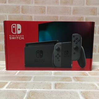 Nintendo Switch - 新品 未開封品 送料込み 新型 Nintendo Switch グレー