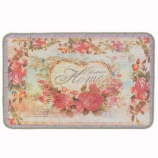 フランフラン(Francfranc)のマット 玄関マット キッチンマット ラグ 絨毯 じゅうたん ローズ 花柄 花(玄関マット)