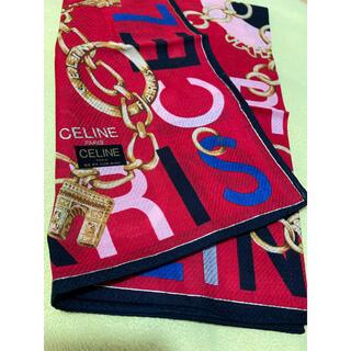 celine - CELINE・Parisスカーフ(ハンカチ)